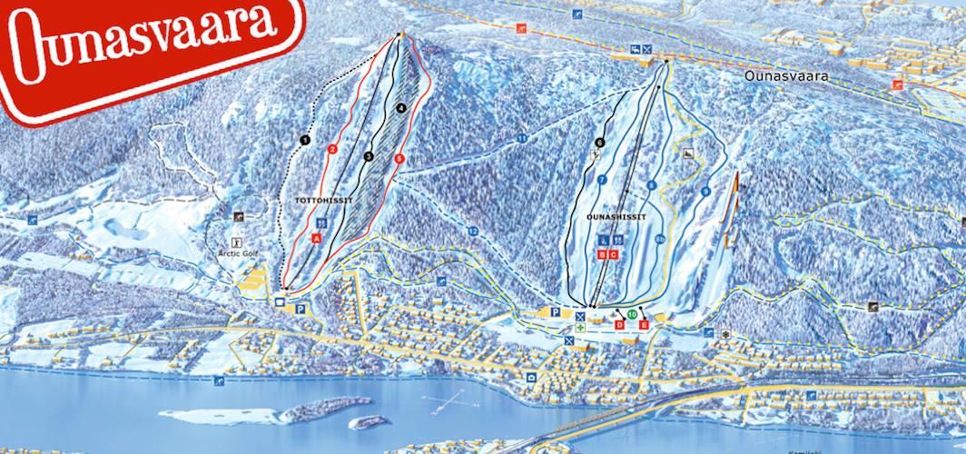 Ounasvaara Ski Resort Rovaniemi Discovering Finland