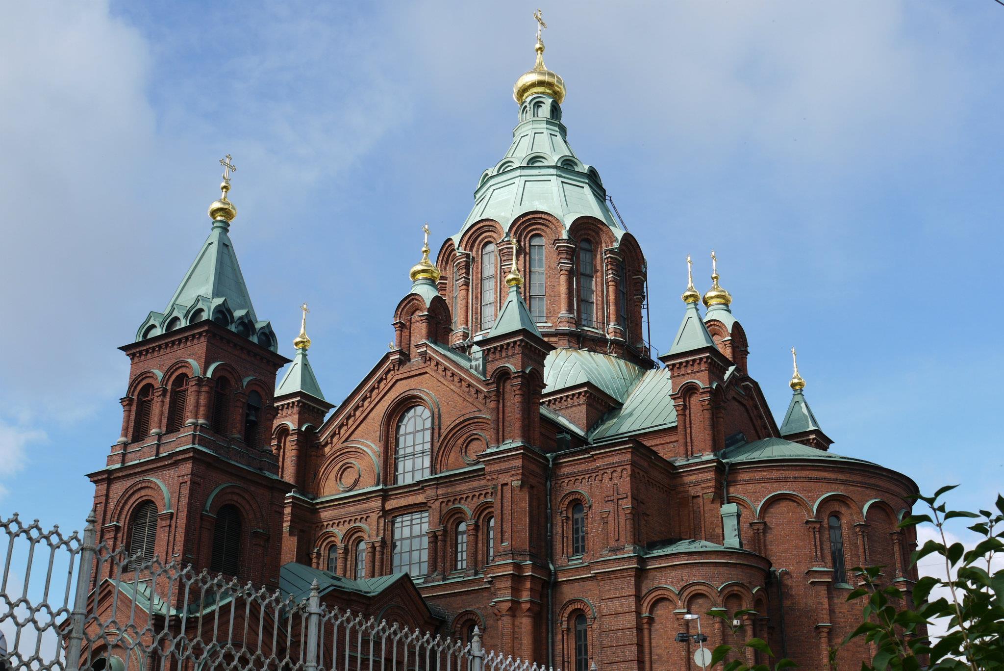 Uspenski Orthodox Cathedral Helsinki Discovering Finland