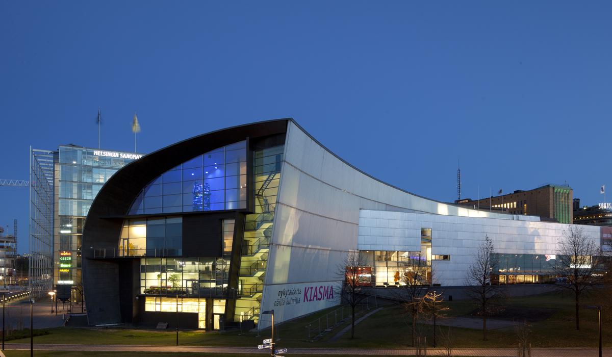 Museum Of Contemporary Art Kiasma Helsinki Discovering