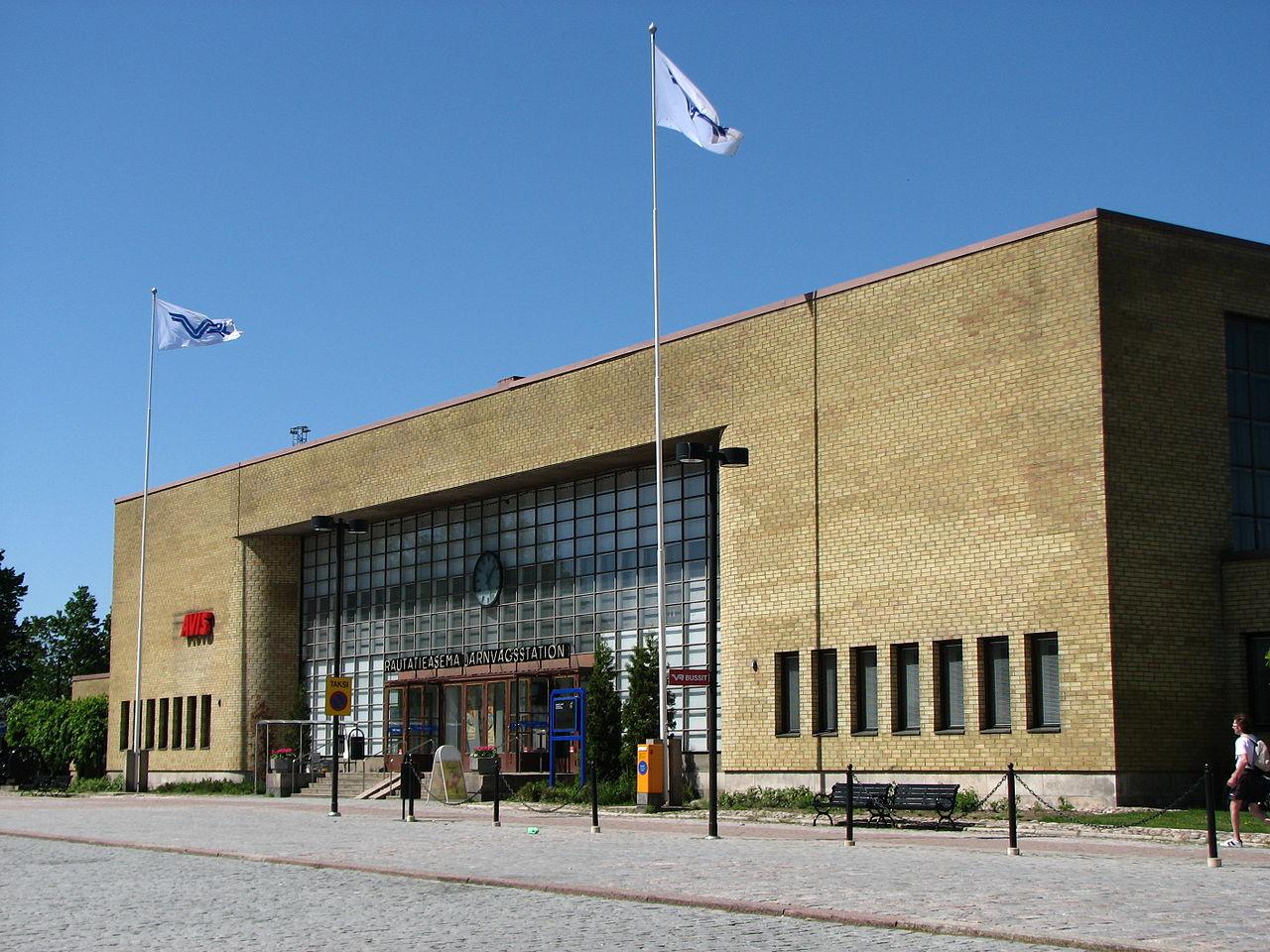 Turku Central Railway Station