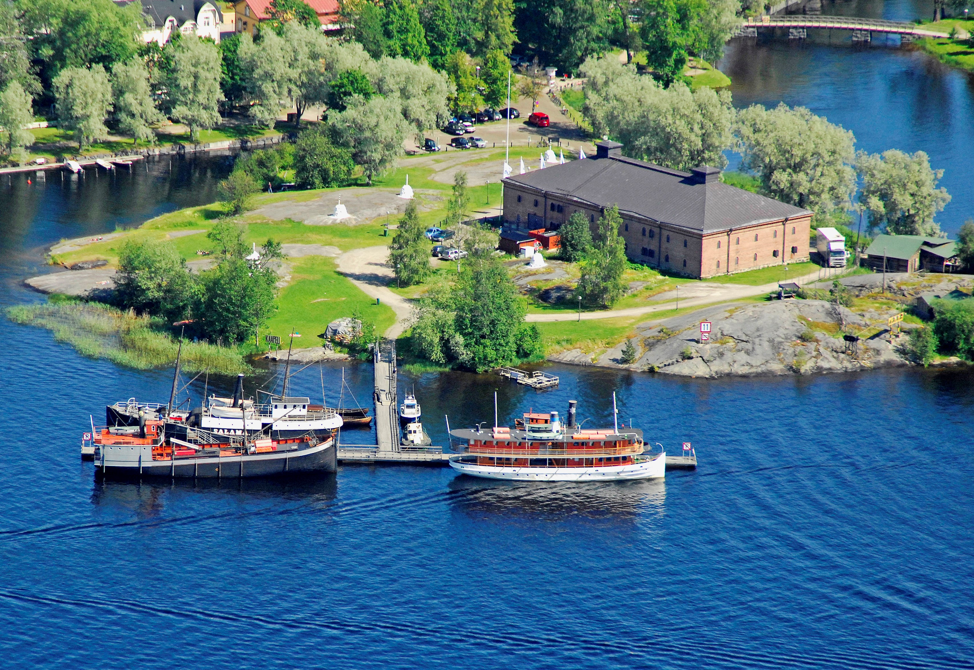 Riihisaari – Lake Saimaa Nature and Culture Centre