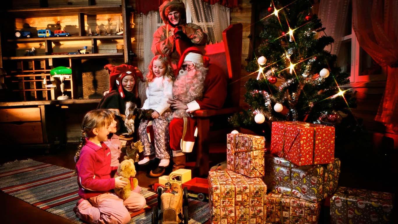 At home with Santa - photo © Santa's Resort - Saariselkä - Lapland - Finland