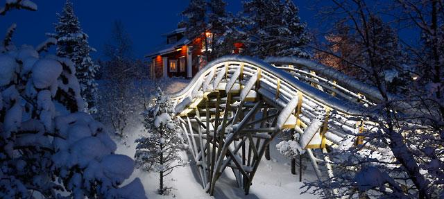 Gold Creek Bridge © Santa's Resort – Saariselkä – Lapland – Finland