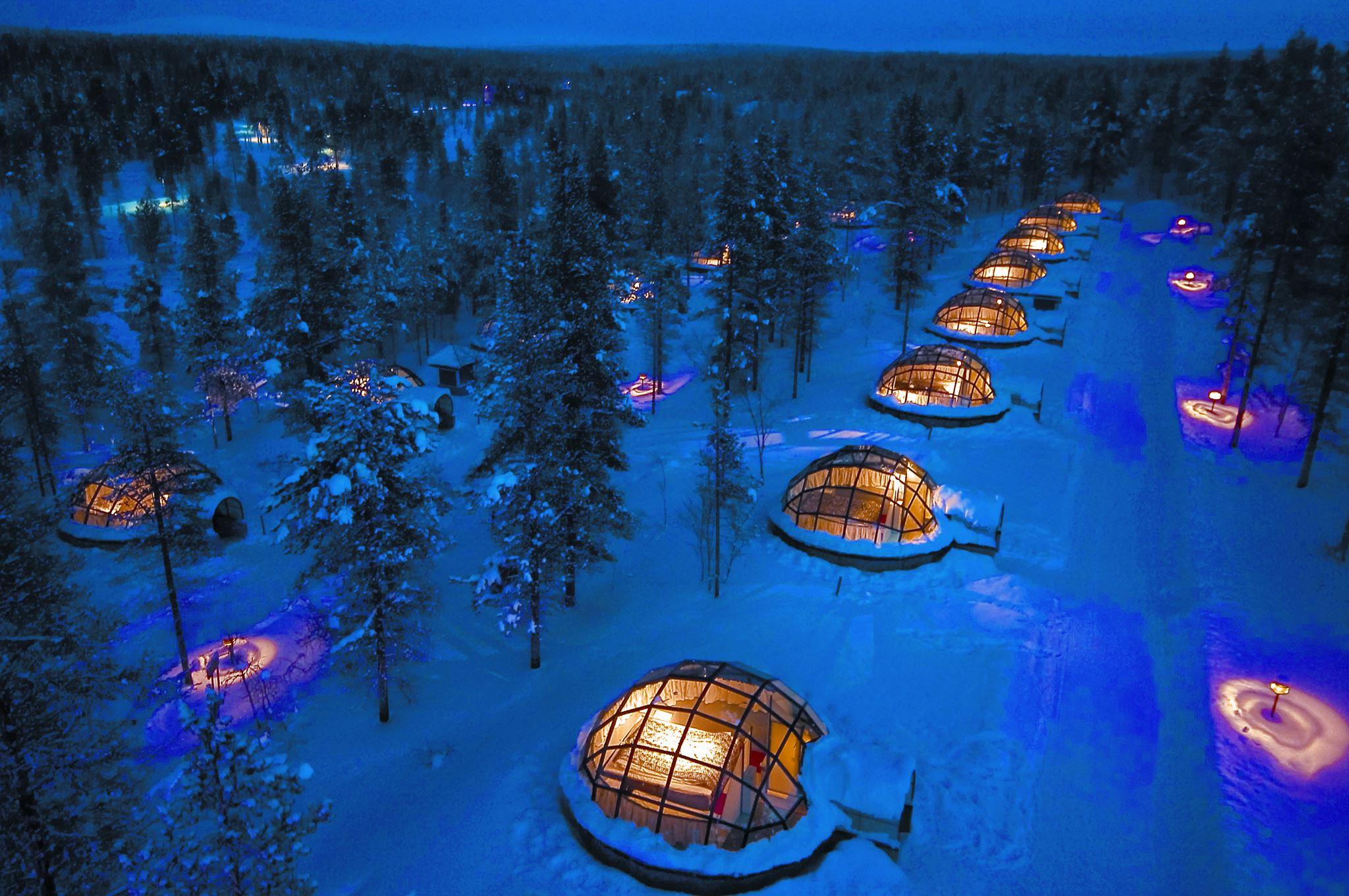 Igloo Village © Santa's Resort - Saariselkä