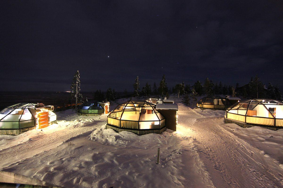 Levi Igloos Kittil 228 Discovering Finland
