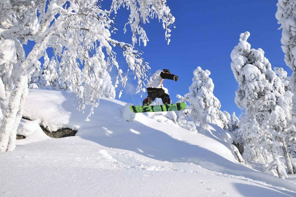 Vuokatti Ski Resort Sotkamo Activities Kuhmo Winter