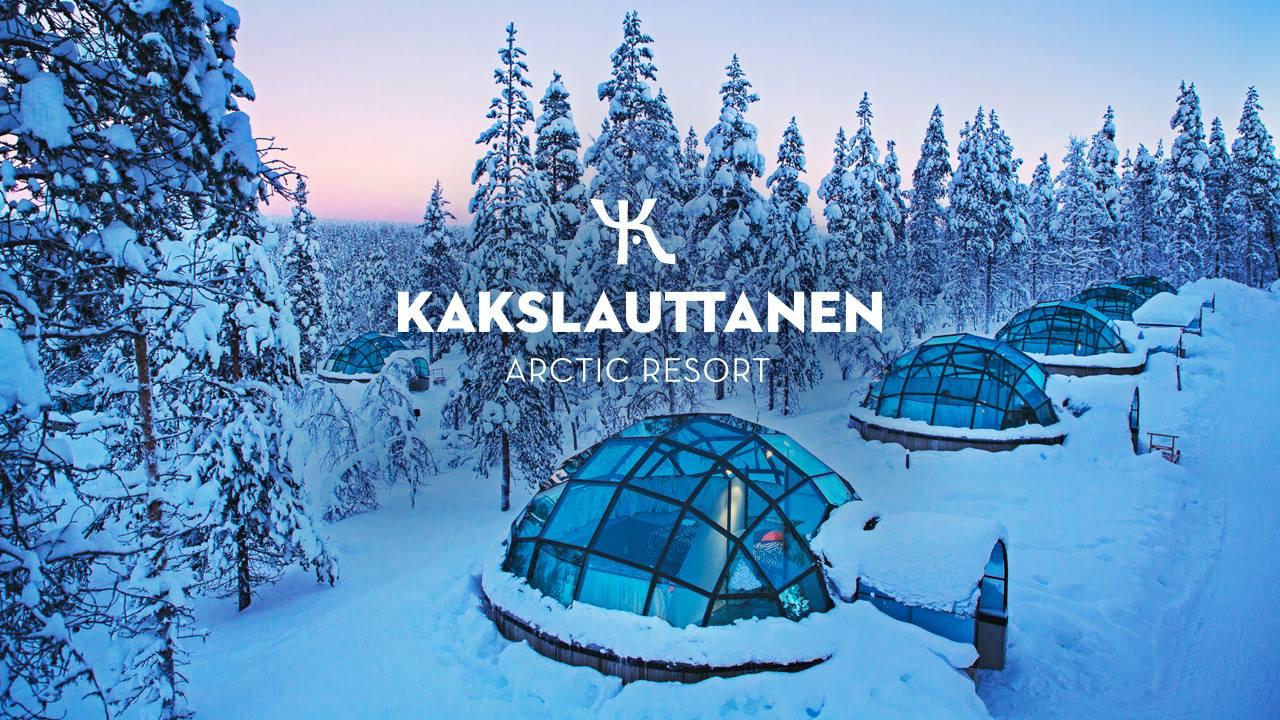 Finland Glass Igloo Vacation