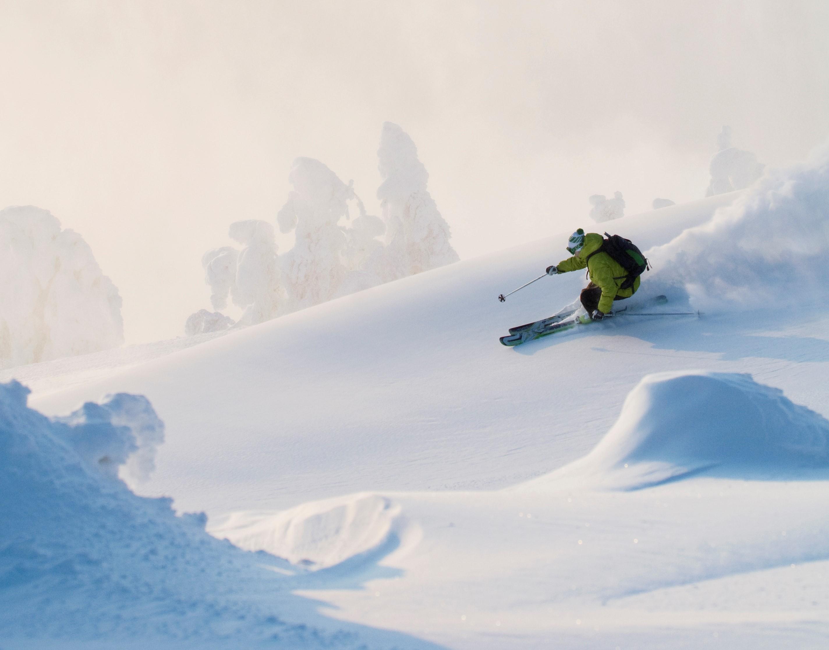 The best ski resorts in Finland. Ski resort Levi (Finland) 79