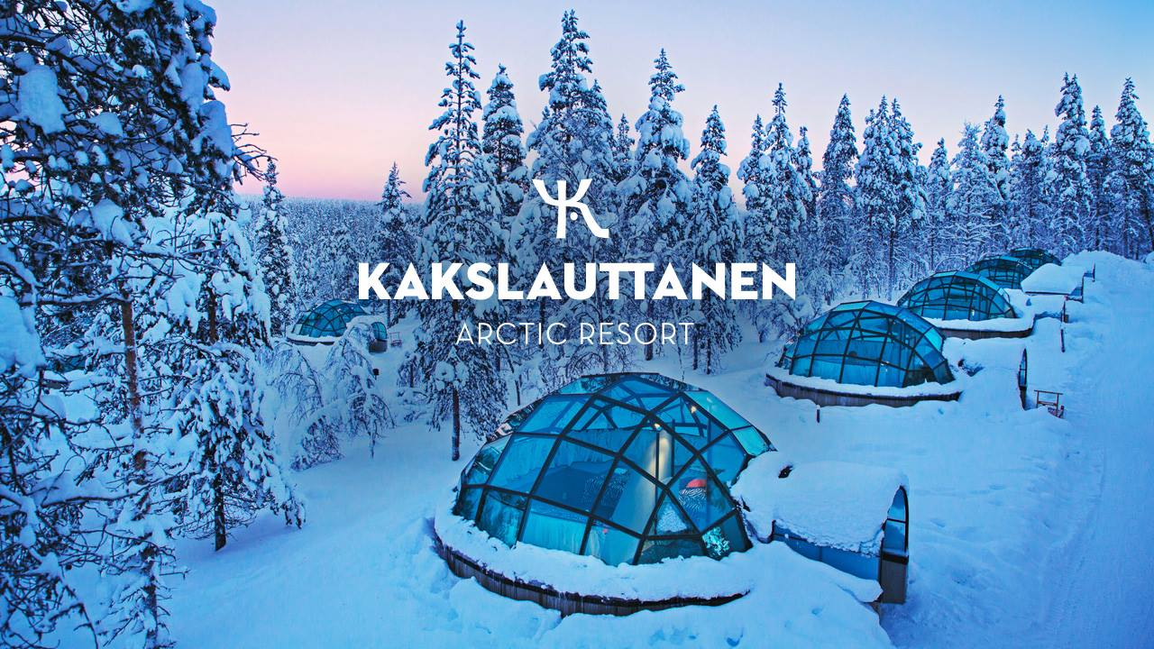 Kakslauttanen Arctic Resort Glass igloos