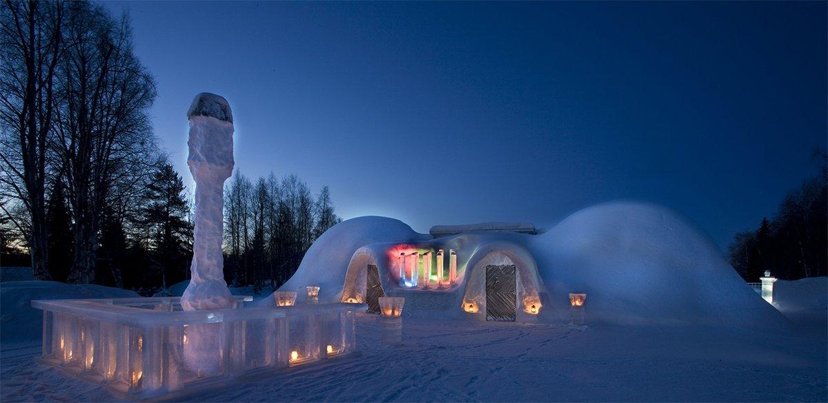Snowland Lumimaa Rovaniemi