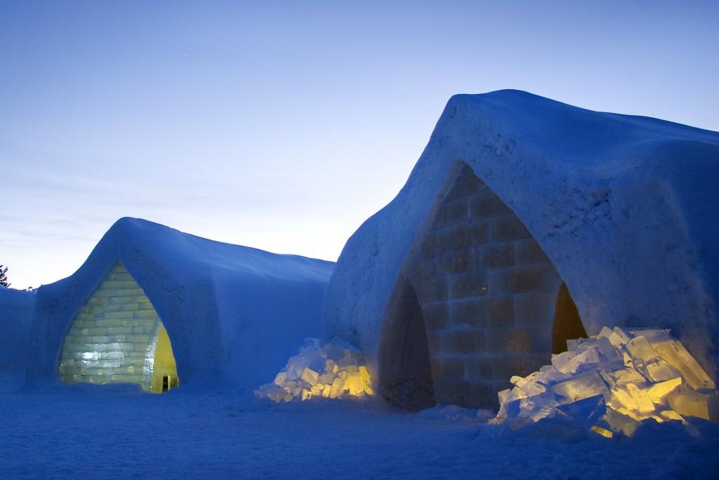 Rovaniemi Attractions - Arctic SnowHotel