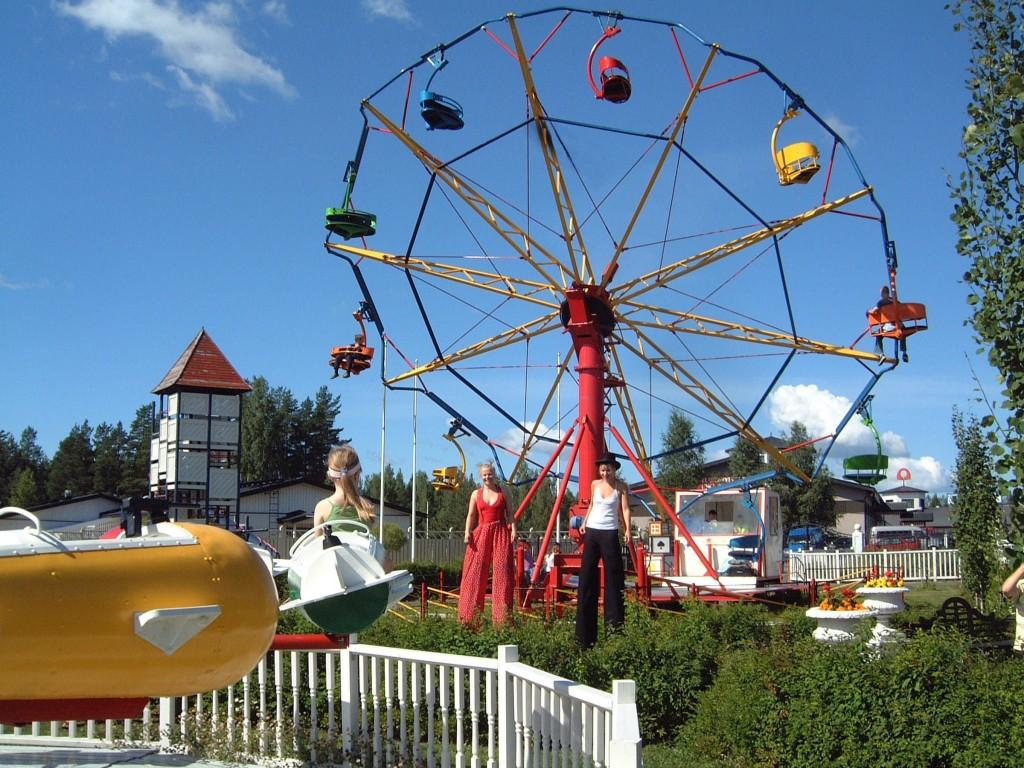 Family Vacationa in Finland | Nokkakivi Park