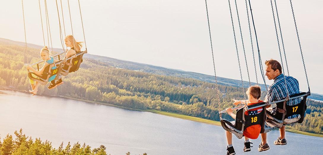 Family Vacations Finland - Tykkimaki Amusement Park