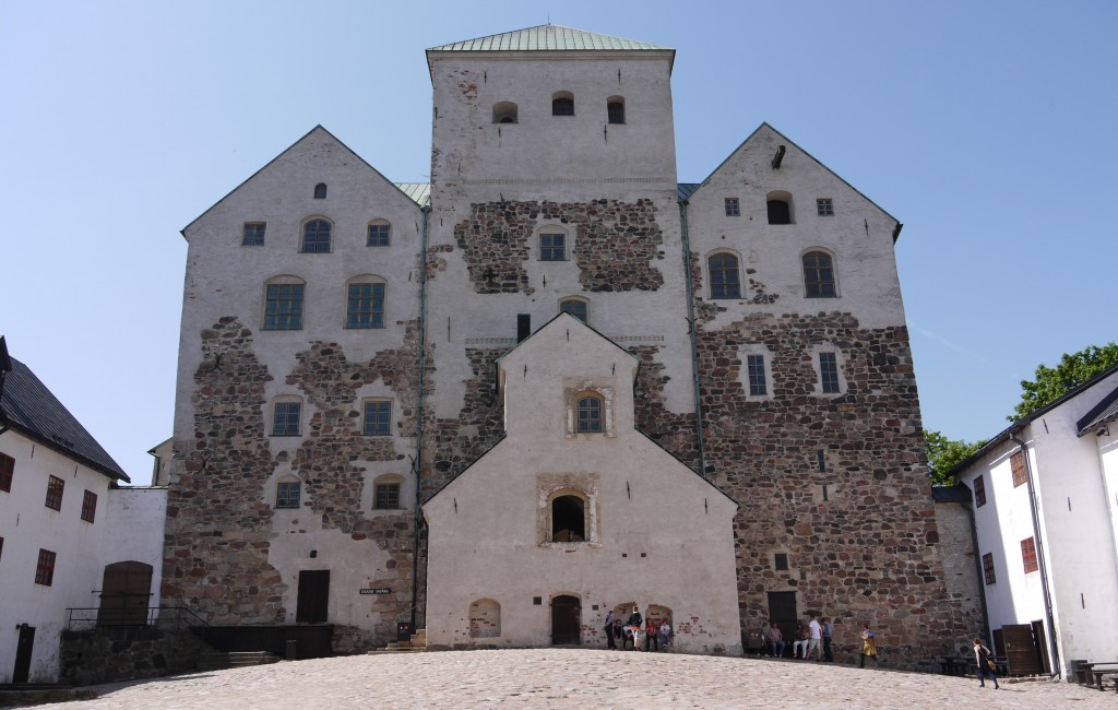 Turku Castle Courtyard