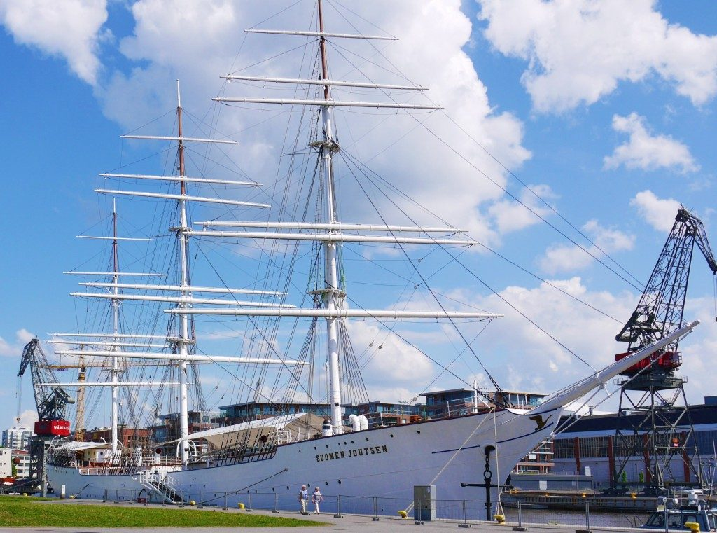 Turku Culture Trail | Suomen Joutsen at Forum Marinum