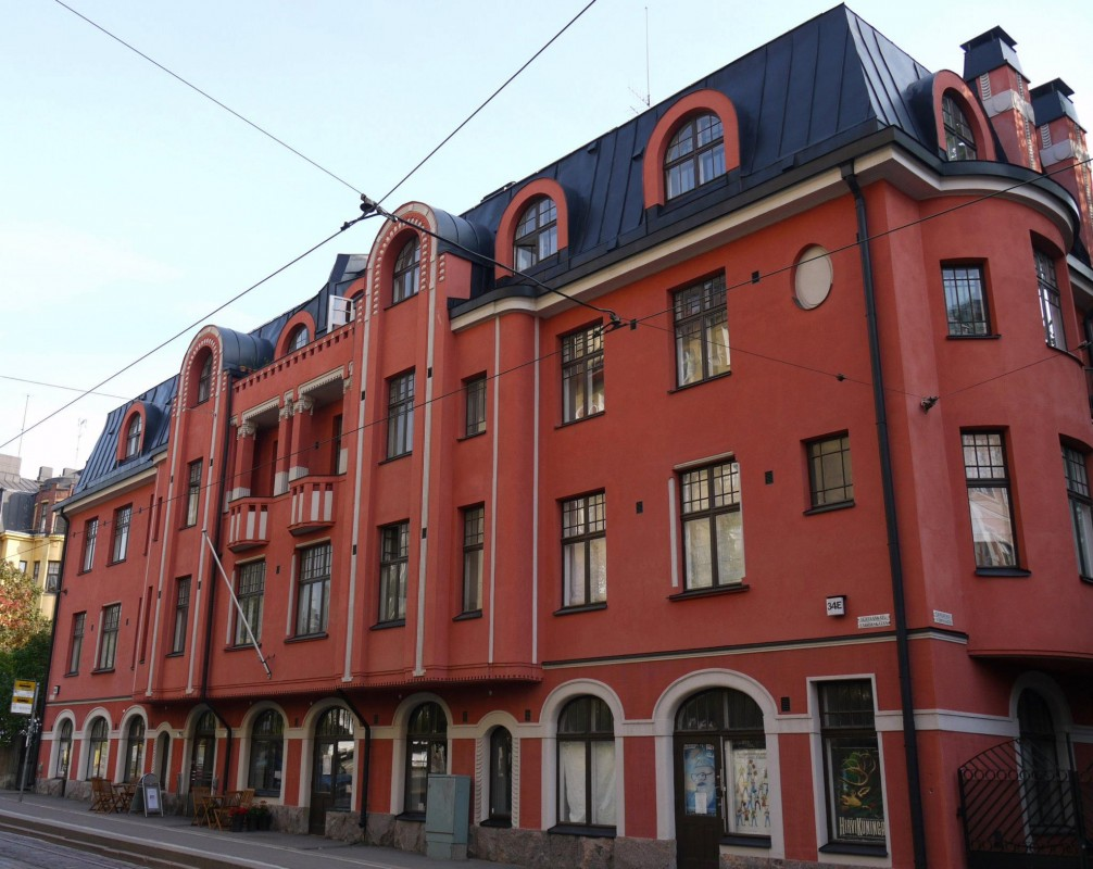 Architecture in Helsinki - Tehtaankatu 34