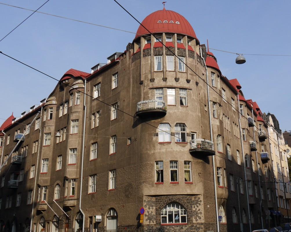 Architecture in Helsinki - Schalinin talo