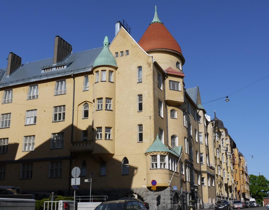 Architecture in Helsinki - Olofsborg