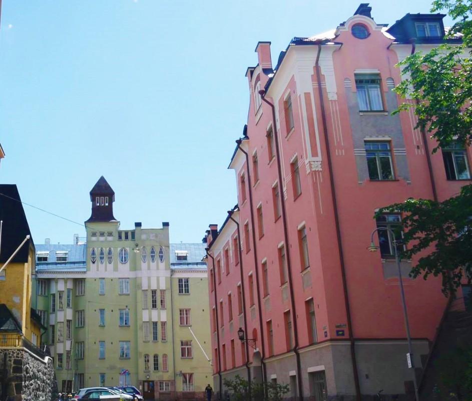 Architecture in Helsinki - Oikokatu 5