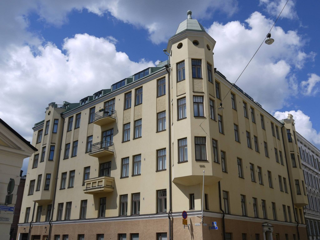 Architecture in Helsinki - Maneesikatu 5