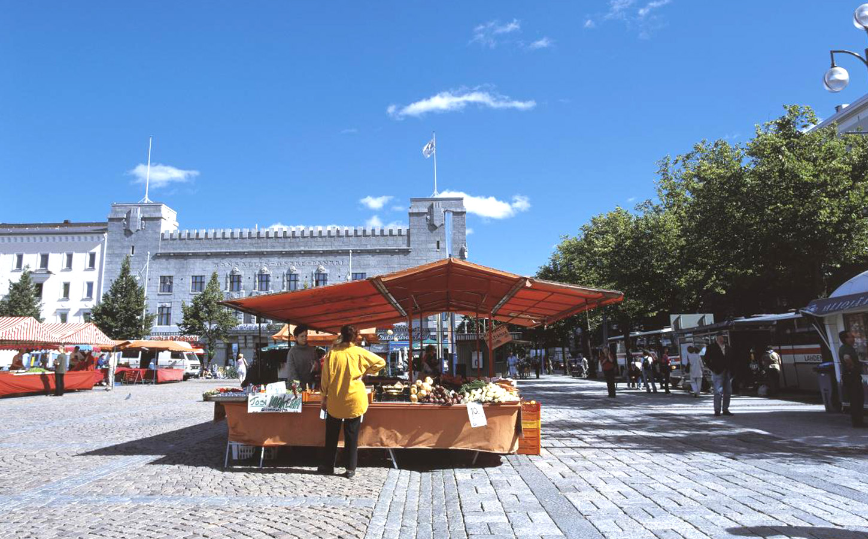 lahti central square