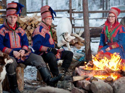 Santa Claus Reindeer Reindeer Sleigh Ride Rovaniemi