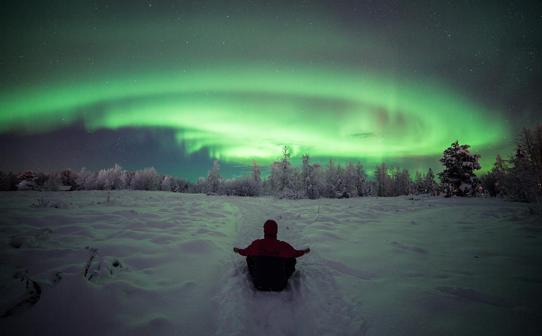 Northern Lights Finland Aurora Borealis Northern