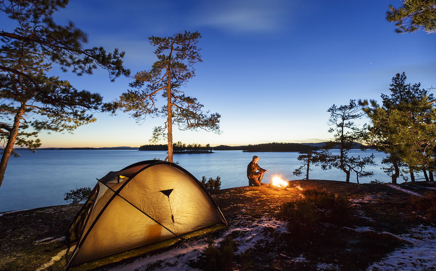 Camping In Finland Camping Amp Caravan Sites Discovering