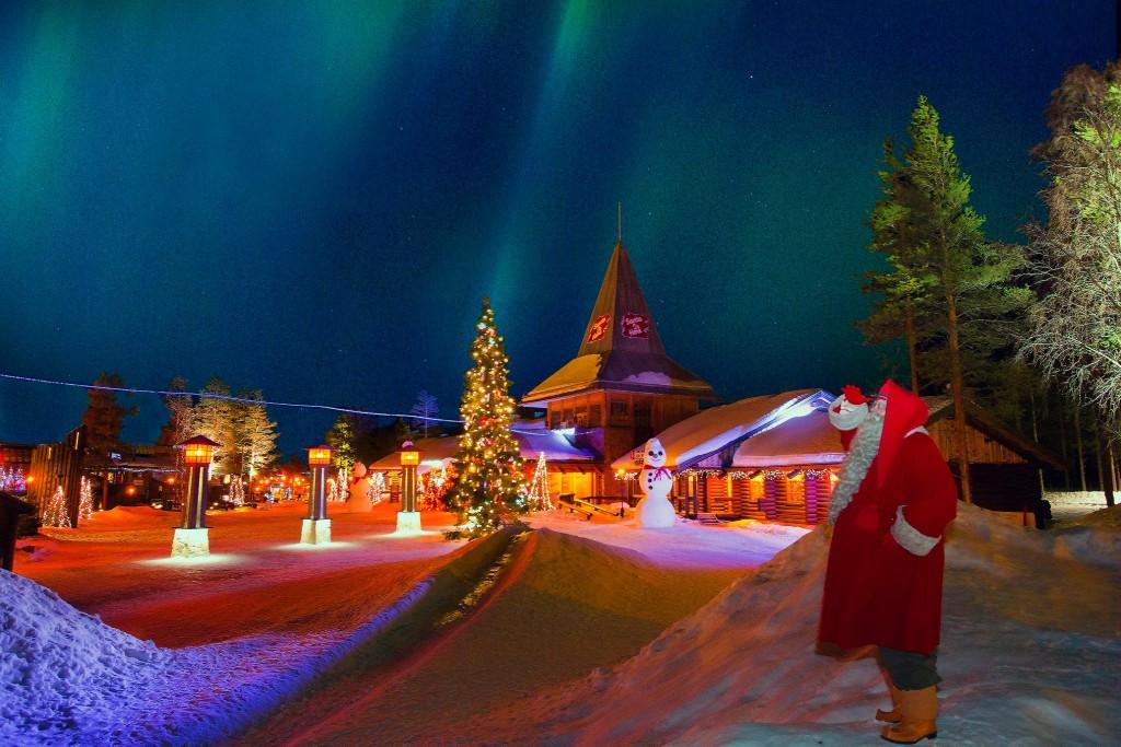 Santa Claus Village - Meet Santa in the Santa Claus Office ...