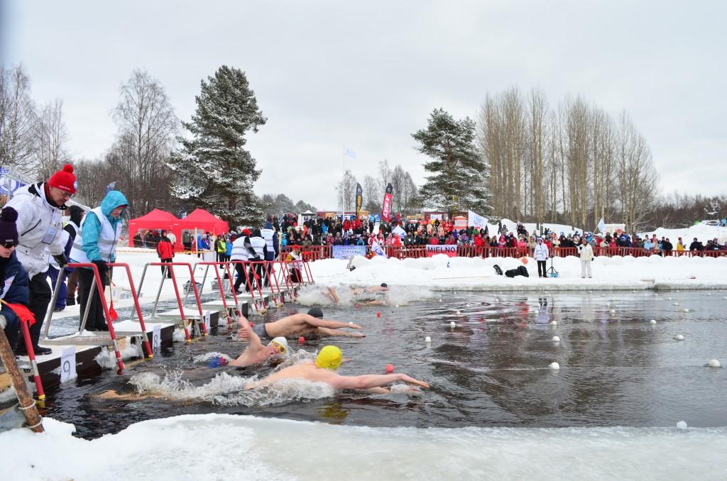 Ice Swimming World Championships in Rovaniemi