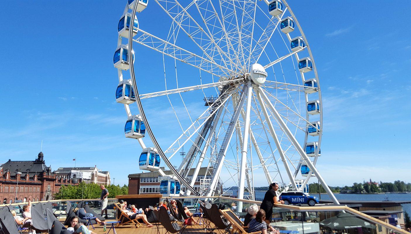Skywheel Helsinki Helsinki Discovering Finland