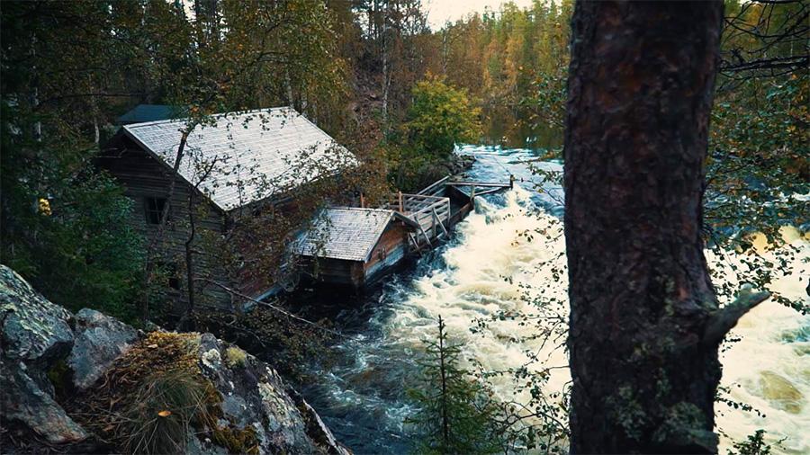 the famous Myllykoski Falls