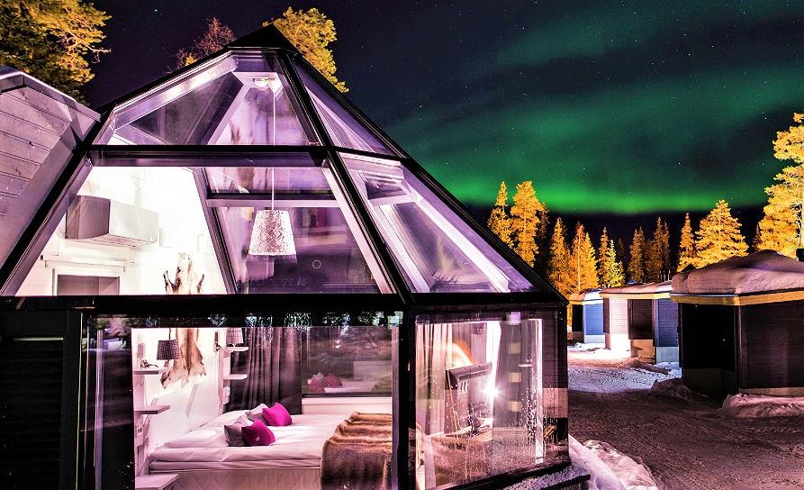 Santa's Igloos Arctic Circle Rovaniemi - Discovering Finland
