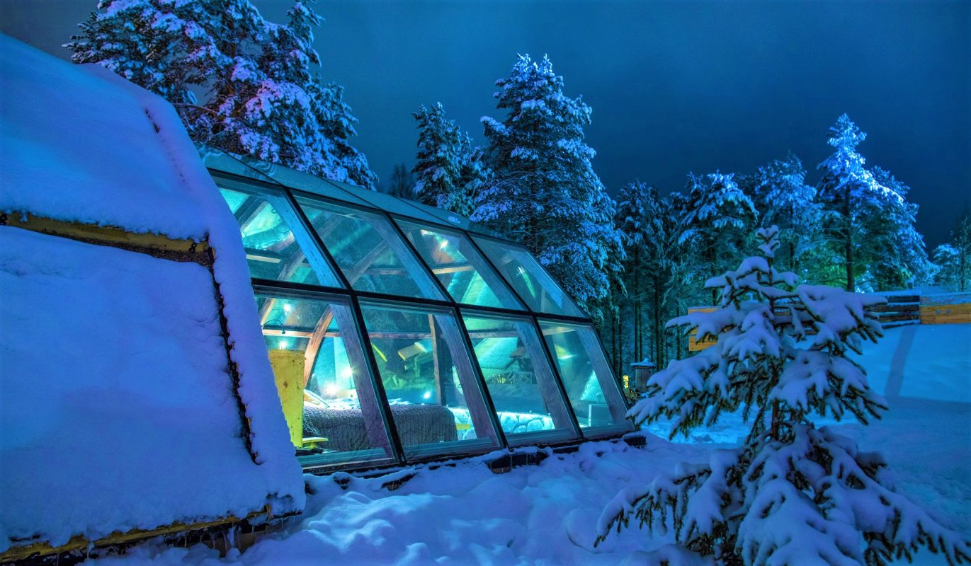 Hotel Ilveslinna Lapland Igloo Discovering Finland