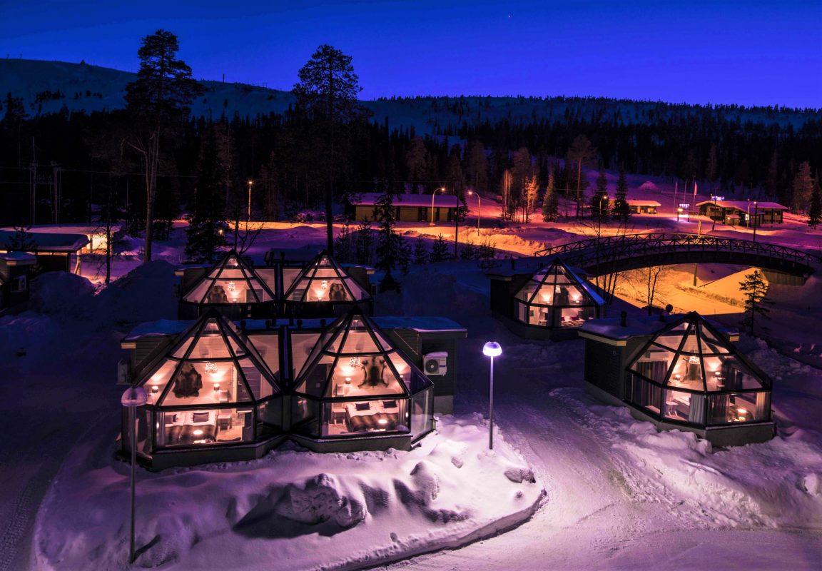 Santa S Hotel Aurora Glass Igloos Discovering Finland