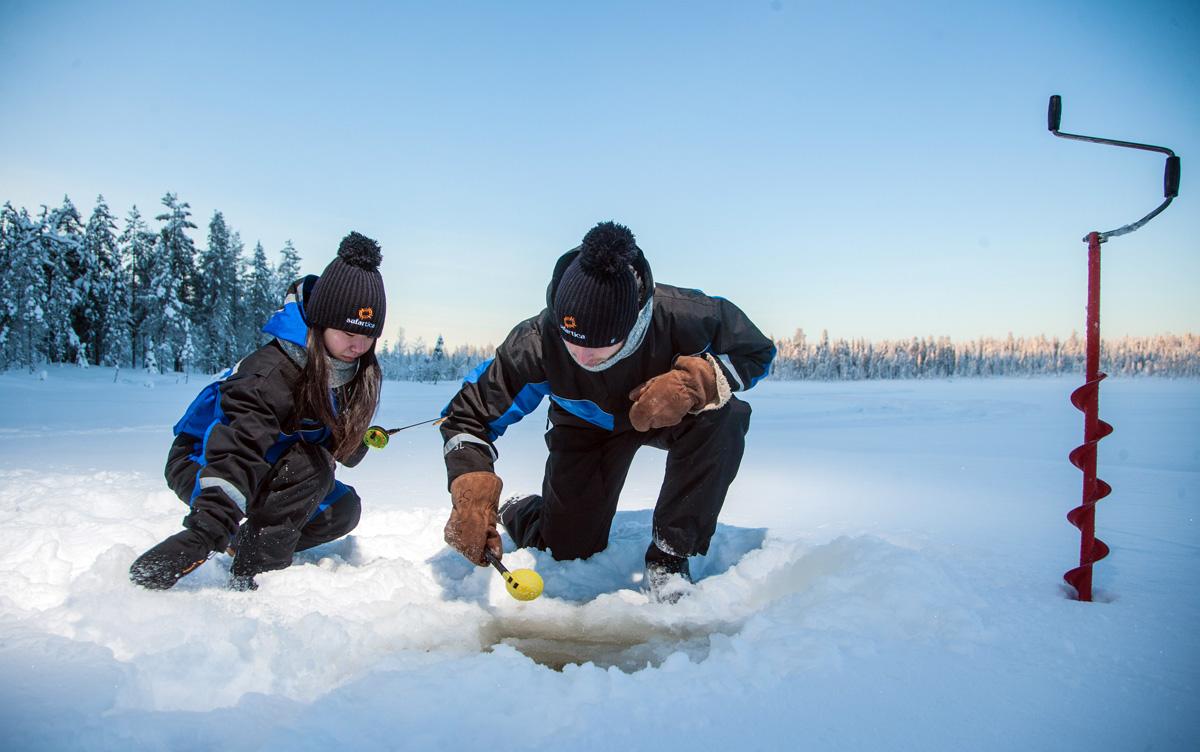 Snowmobiling, Ice-Fishing & Tasty Food Tour in Rovaniemi Rovaniemi ...