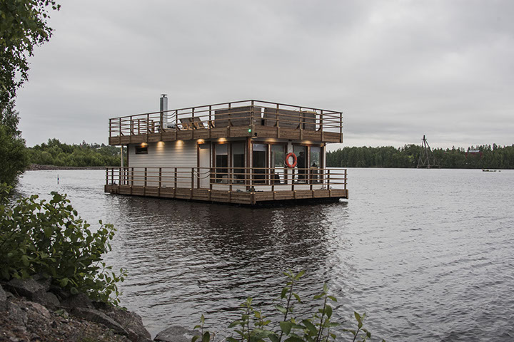 Floating Sauna of Lappeenranta